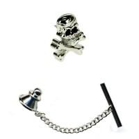 Skull & Crossbones Tie Pin from Ties Planet UK