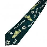 Soccer Men's Novelty Tie from Ties Planet UK
