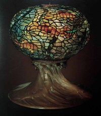 "16"" Fish Bowl lamp"