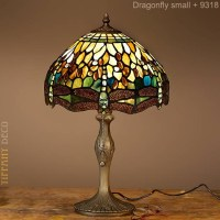 Tiffany Lamp Dragonfly Green Small - the most beautiful ...