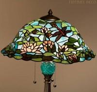 Lampe tiffany Lotus - Les plus belles Lampes Tiffany