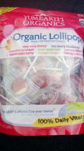 YumEarth Organics Assorted  Pops 40+ pops