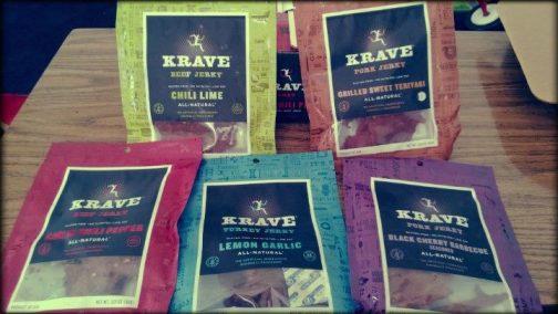 Krave Jerky Flavors