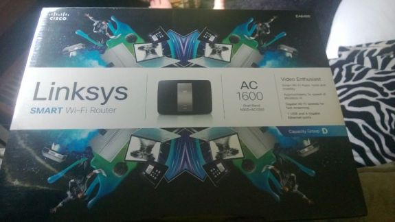 Linksys Smart Wi-Fi AC EA6400 router