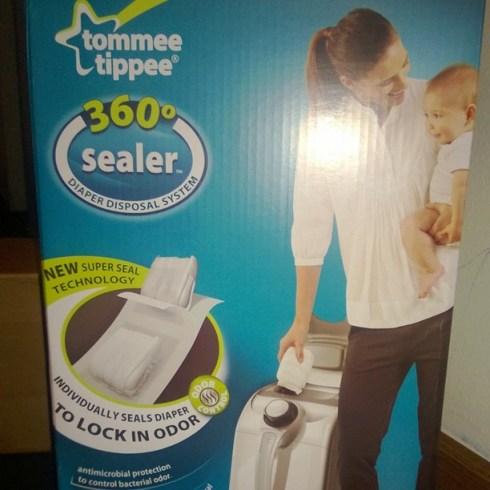 360° sealer Diaper Disposal System