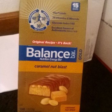 Caramel Balance Bars