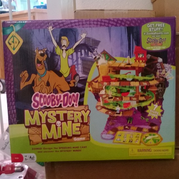 Scooby-Doo! Mystery Mine Game