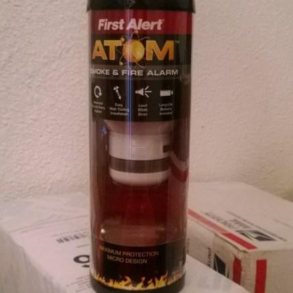 sleek smoke alarm