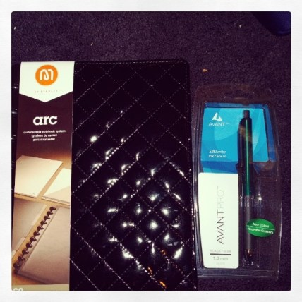 Quilted Arc and Pen