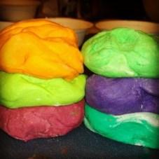 #Homemade #Playdough and #edible to #Recipe and #DIY, #Craft