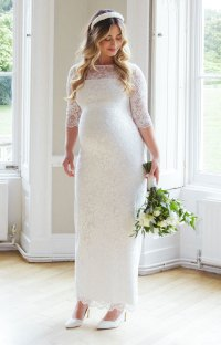 Maternity Wedding Dresses | POPSUGAR Moms