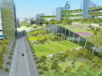 Extensive brown and green roof gardens - Green Roofs ...