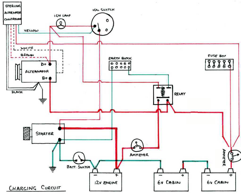 Amp Gauge Wiring Diagram Wiring Diagram