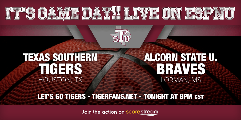 Basketball  games versus Alcorn State set to tip off at 5:00 pm and 8:00 pm