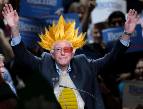 Bernie Sanders: 'If Elected President, I Will Continue Bringing Anime to Life.'