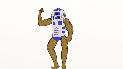 R2D2 Sexy Try 2