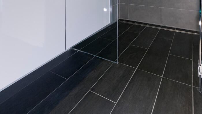 Dark Wood Tile Floors