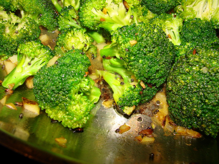 Tigers & Strawberries » From India'S Vegetarian Cooking: Broccoli