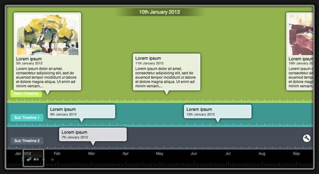 Tiki-Toki Timeline Maker Beautiful web-based timeline software