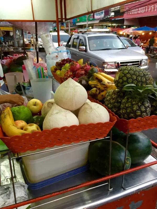 best fruit shake in thailand