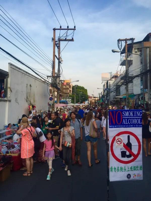 sunday night market chiang mai