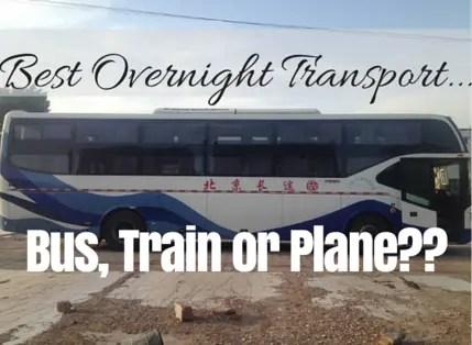 overnight travel bus