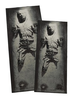 Han Solo in Carbonite Rug