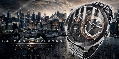 Batman and Superman Watches
