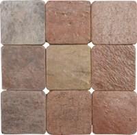 Copper Slate | 4x4 | 6x6 | Tumbled