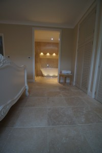 From Travertine Beds, to Bedroom Floor  Inspirational Use ...