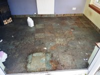 Cleaning and Sealing Heavily Soiled Slate Tiles in ...