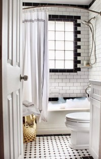 27 small black and white bathroom floor tiles ideas and ...