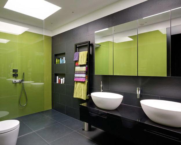 35 avocado green bathroom tile ideas and pictures - green bathroom ideas