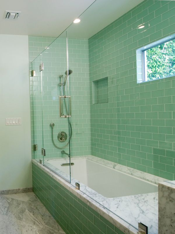 Fall In Love Leaf Wallpaper 40 Mint Green Bathroom Tile Ideas And Pictures
