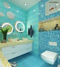Blue Floor Tiles For Bathroom Gallery - Cheap Laminate ...