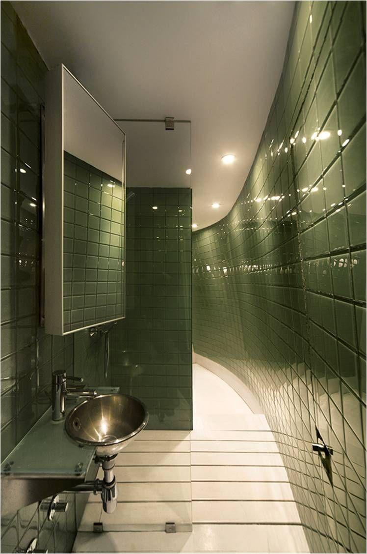 Green tiles for bathroom -  Bathroom Interior In Green Tile Ceramics Download