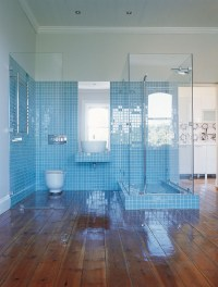 30 magnificent ideas and pictures of 1950s bathroom tiles ...