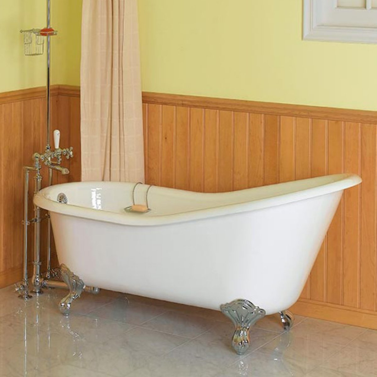 bathrooms with clawfoot tub pictures