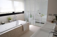50 magnificent ultra modern bathroom tile ideas, photos