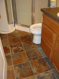 30 Pictures of slate tiles for bathroom floor