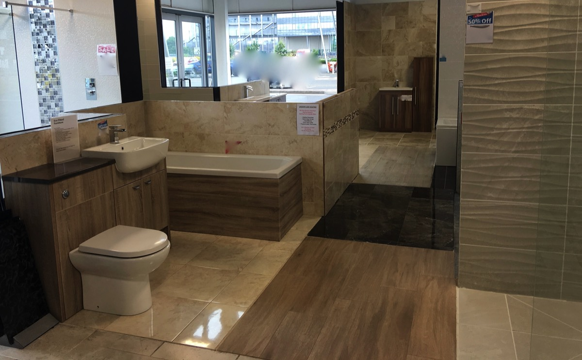 Bathroom showrooms shrewsbury