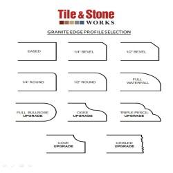 Small Crop Of Granite Edge Profiles