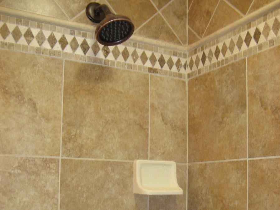 Bathroom Tile - Accent Liners, Shower Glass Doors, Mosaics