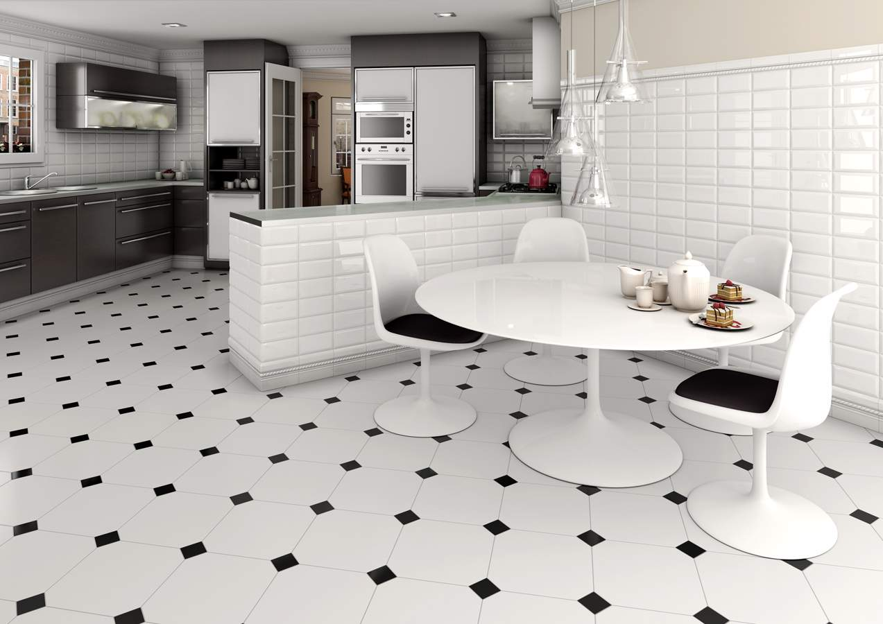 Fullsize Of Black And White Floor Tile