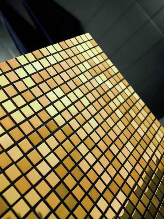 Mosaics Dune Metalic Gold