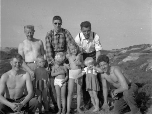 Rødsand 1950 - årene