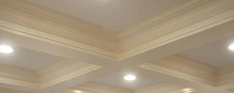 Ceiling Molding Ideas | Custom Coffered Ceiling Molding Systems & Kits