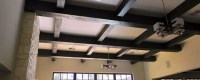How to Install Faux Wood Ceiling Beams | Foam Box Beam ...