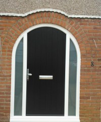 Arched Timber Composite Doors - Solidor Timber Composite ...