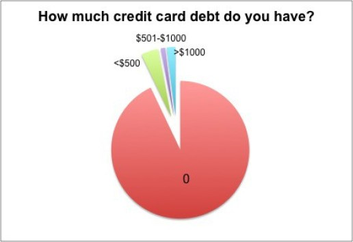 Credit Card Debt Pie Chart